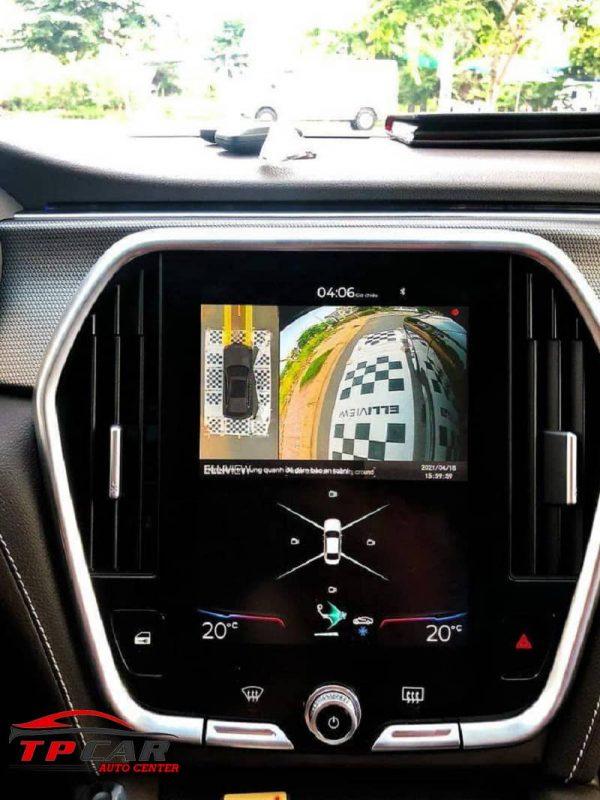 chế độ giám sát đổ xe của camera elliview 360 v5