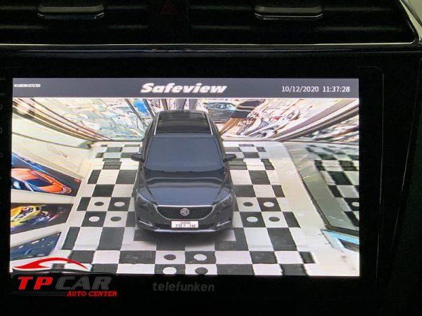 góc nhìn của camera 360 safeview