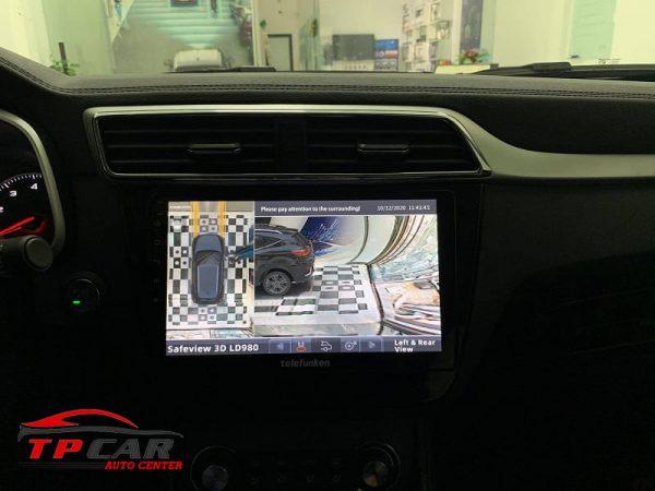 góc nhìn chuyển động phía trước và sau xe của camera 360 safeview ld980
