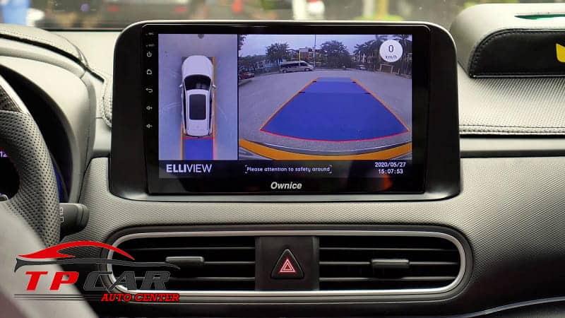 Tích hợp với các loại camera 360 ô tô