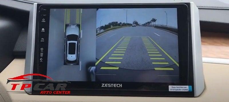 màn hình zestech camera 360