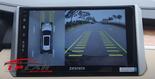 tính năng hiển thị cảm biến trên màn hình zestech z800 plus