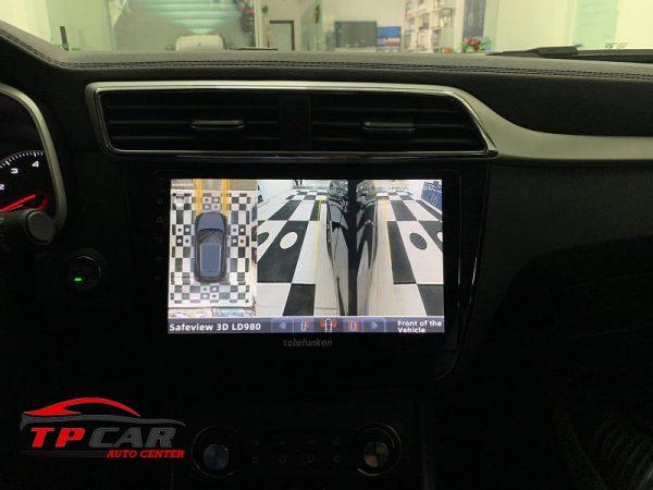 tính năng hỗ trợ quan sát 2 bên sườn xe