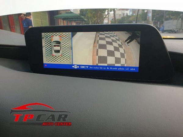 camera 360 dct mazda 3 sở hữu tính năng hiện đại