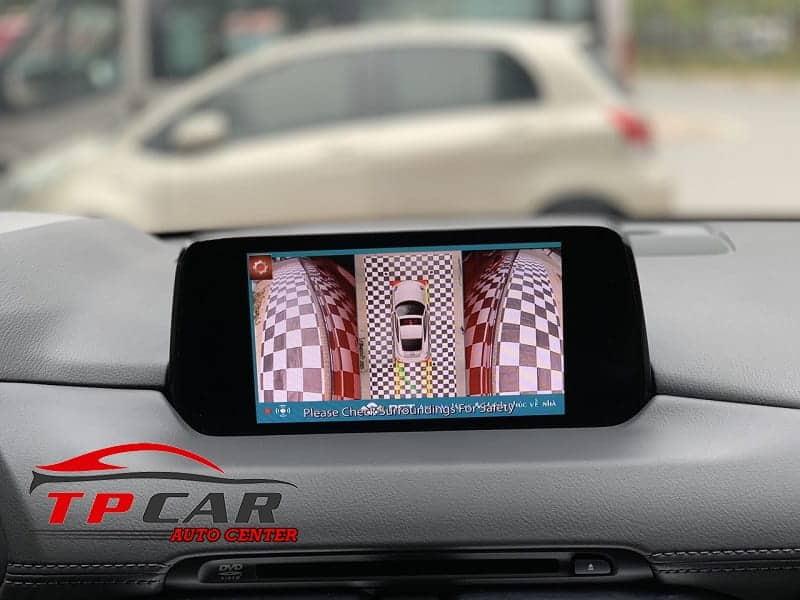 Camera 360 giúp lùi xe an toàn hơn