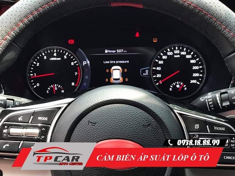 cảm biến áp suất lốp ô tô là gì