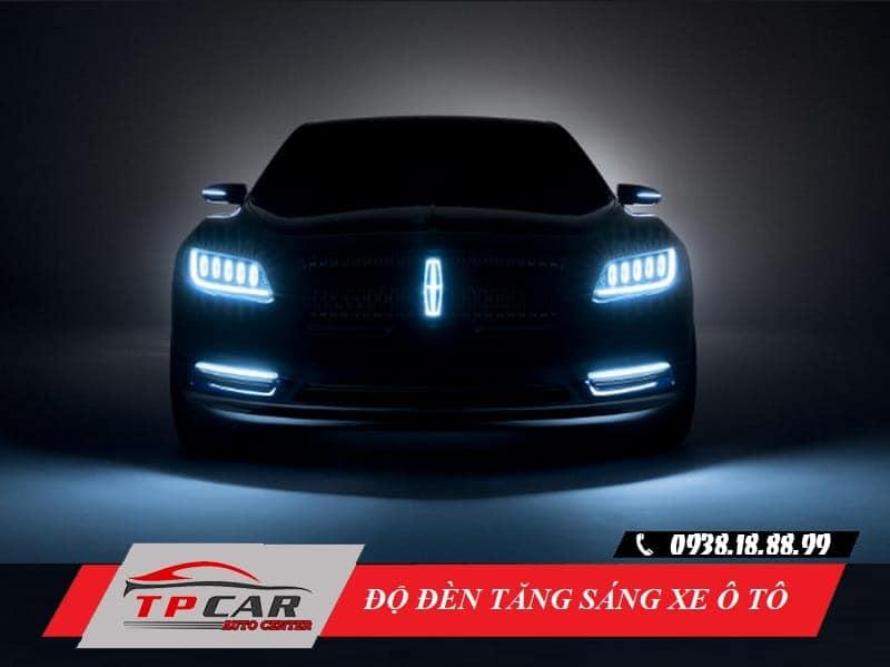 độ đèn tăng sáng ô tô