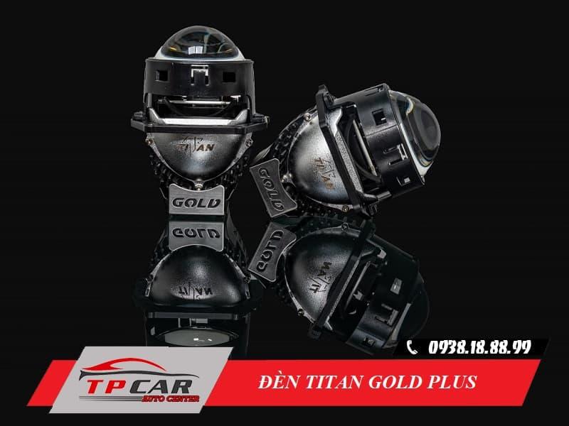 đèn bi led titan gold plus
